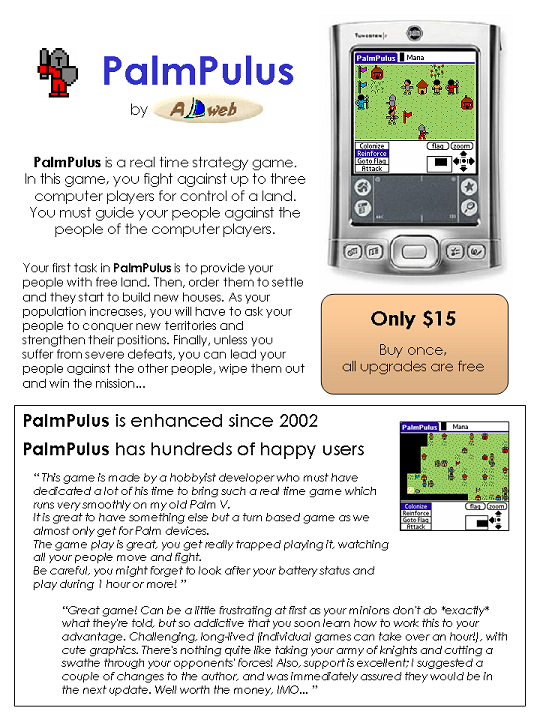 PalmPulus - text description is included in the image